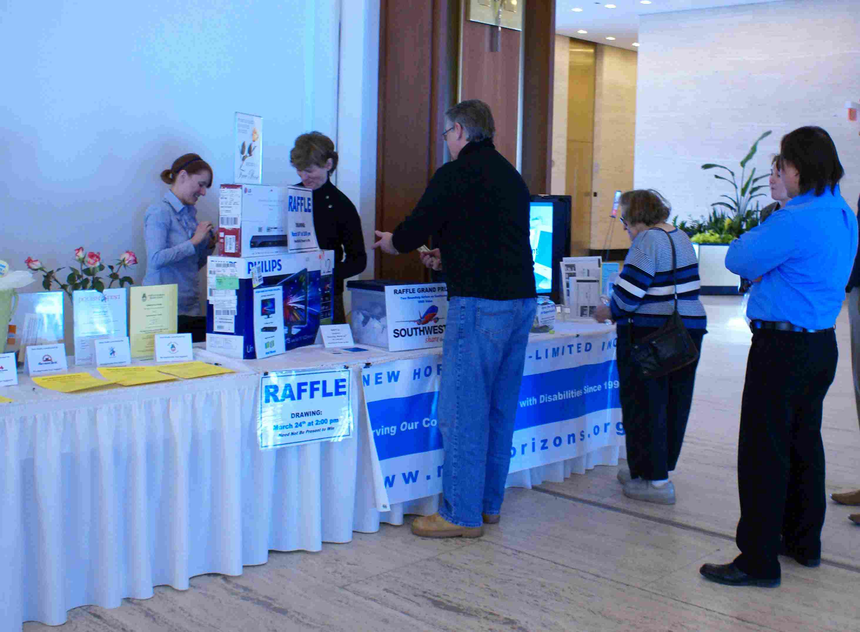Raffle and Silent Auction