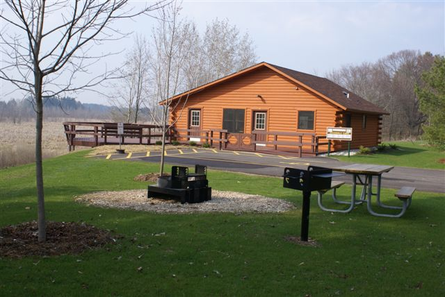 Kohler-Terry Andrae State Parks Accessible Cabin